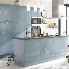meuble cuisine bleu meuble cuisine bleu stunning cuisine gris bleu turquoise photos