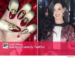 guess the amazing celebrity nail art toofab com