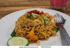 maggi cuisine malaysian style maggi goreng mamak spicy stock photo 708700153