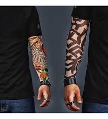 a set of 2 sleeves celtic and colorful