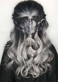 black grey hair silver hair trend 51 cool grey hair colors tips for going gray