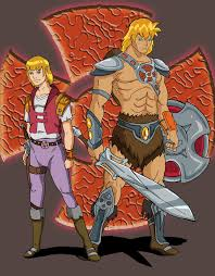 he man and the masters of the universe he man and the masters of the universe anime style character