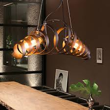 industrial style ceiling lights bar iron l modern minimalist industrial style chandelier ceiling
