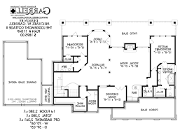 u shaped ranch style house plans