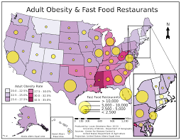 Map Of Cleveland Clinic Fast Food Restaurants And Childhood Obesity Sudden High Blood