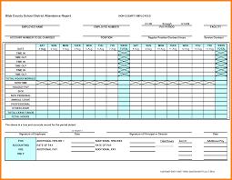 Attendance Sheet Template Excel 9 Attendance Sheet Template Excel For Employee Dialysis