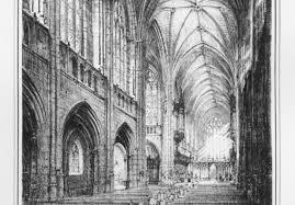 Gothic Architecture Floor Plan The Building Duke University Chapel