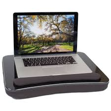Laptop Lap Desk With Light by Sofia Sam All Purpose Lap Desk Black Walmart Com