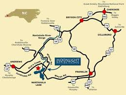 nantahala river map nc mountain comfortable vacation cabin for rent by owner lake