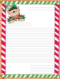 santa letter template sop example