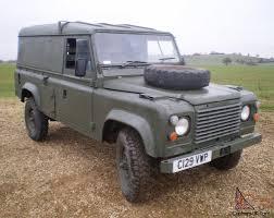 land rover military defender rover military defender 110 12v 24v ffr hardtop 2 5 diesel 1986 rhd