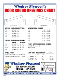 Garage Dimensions Garage Door Rough Opening Chart Socialmediaworks Co