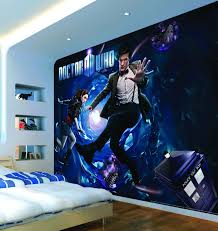 dr who bedroom dr who bedroom ideas beautiful exploding tardis mural wallpaper