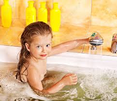 happy child bathing in bubble bath stock photo picture and happy child bathing in bubble bath stock photo 14084605
