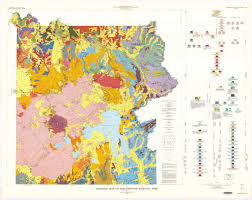 Yellowstone Park Map Wildly Colorful Geologic Maps Of National Parks And How To Read