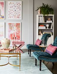 Pink Accent Chair Image Result For Hot Pink And Gold Accents In Living Room For