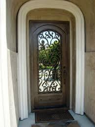 Front Door Metal Decor Best 25 Iron Front Door Ideas On Pinterest Wrought Iron Doors