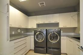 Contemporary Pedestals Contemporary Laundry Room With Concrete Floors U0026 Undermount Sink