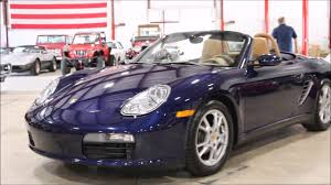 Porsche Boxster 2005 - 2005 porsche boxster blue youtube