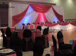 wedding backdrop prices cheap price white and fuchsia or gold stage background wedding