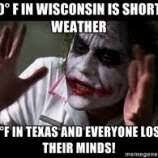 Texas Weather Meme - memes capture the craziness that is texas weather houston chronicle