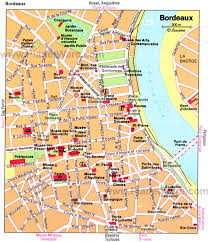 map of bordeaux bordeaux cruise port of call