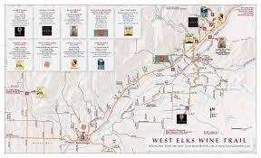 Map Of Western Colorado by West Elks Ava