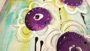 Make Purple Paint A Sprinkle Of Imagination Drawing With Paint