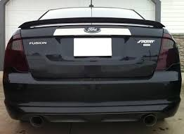 2011 ford fusion tail light 2010 2012 ford fusion smoke tail light precut tint cover smoked