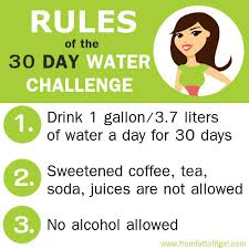 Challenge Water How To How To Start A 30 Day Water Challenge The From To Fit