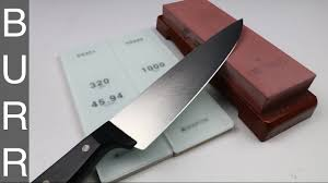 Razor Sharp Kitchen Knives by Sharpening A Dirty Old 1 Wusthof Chef Knife To Razor Sharpness