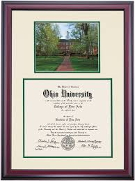 frame for diploma premier style for masters diploma frame ohio alumni association