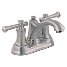 Bathroom Vanity Faucets by Portsmouth 2 Handle 4 Inch Centerset Bathroom Faucet With Lever