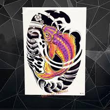 carp fish tattoo high quality fish tattoo designs buy cheap fish tattoo designs