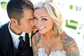 showing off tattooed brides saphire event group
