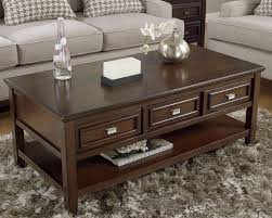 wood coffee table with storage rectangular storage cocktail table furniture stores chicago modern