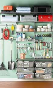 Rubbermaid Garage Organization System - organized garage this is what i need like for the home