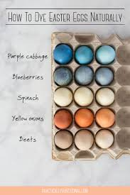 how to dye easter eggs naturally the ultimate guide