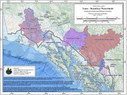 Alaska State Map by British Columbia Alaska Sign Transboundary Mine Agreement