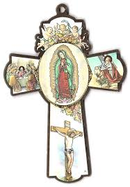our of guadalupe rosary our of guadalupe wall cross from italy with free luminous
