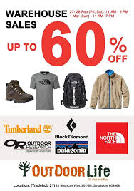 outdoor life outdoor life warehouse sale apparels luggage clearance