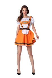 Bavarian Halloween Costumes 2017 German Beer Costume Bar Maid Bavarian Wench Fancy