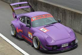 rauh welt porsche purple 2016 6 12 idler games tsukuba rwb rotana vs r34 gtr youtube