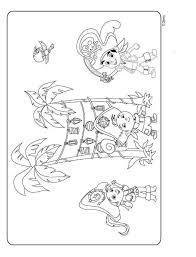kids fun 9 coloring pages jake land pirates