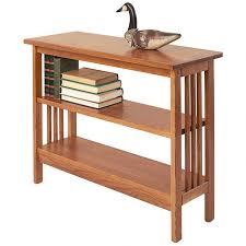 Adjustable Shelves Bookcase Mission Under Window Bookcase Short Bookshelf Manchester Wood