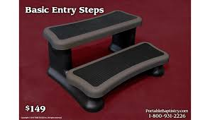 portable baptismal pools basic entry steps church baptistry baptistery heaters