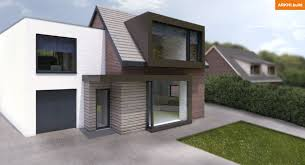 Home Design Windows And Doors White Render Dormer And Copper Cladding Frame Around Window And