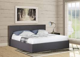 ottoman gas lift king size bed modern furniture direct