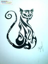 tribal cat by my order designs interfaces design