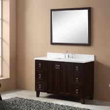 Single Bathroom Vanity by Corrigan Studio Gerard Free Standing Modern 47